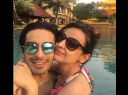 Tv Favourite Couple Sanaya Irani Mohit Sehgal On Romantic Holiday