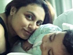 Aditya Chopra Rani Mukerjee S Daughter Adira S First Pic