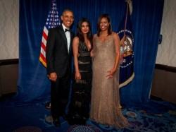 Priyanka Chopra Bids Farewell Barack Obama