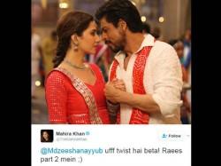 Mahira Khan Just Hinted About Sequel Raees