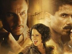 Reasons Why Saif Ali Khan Kangana Ranaut Shahid Kapoor Rangoon Will Set Marks For Bollywood