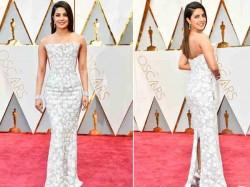 Priyanka Chopra Oscar Award 2017 Red Carpet Look