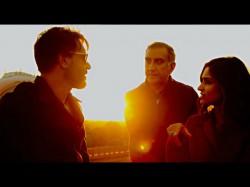 Ajay Devgn With Ileana On The Sets Baadshaho
