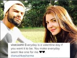 Virat Kohli Makes His Relationship With Anushka Sharma Official