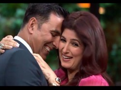 Twinkle Khanna Says Akshay Lets Me Win Battle Words At Home