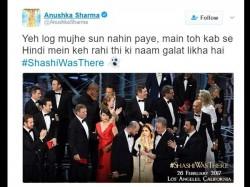 Anushka Sharma Promoted Film Phillauri With Troll On Oscar