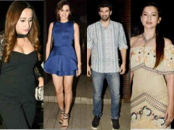 Bollywood Stars At Badrinath Ki Dulhania Success Party