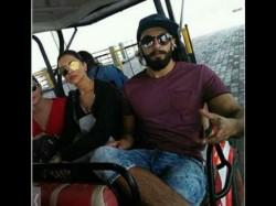 Deepika Padukone And Ranveer Singh Spotted Together At Airport