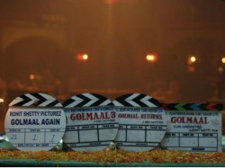 Rohit Shetty Golmaal Again Shooting Starts