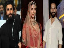Ranveer Singh Deepika Padukone Shahid Kapoor Tough Decision Padmavati