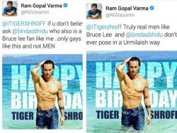 Ramgopal Verma Calls Tiger Shroff Gay