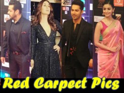 Zee Cine Awards Red Carpet Pics