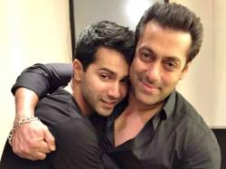 Varun Dhawan Recreating Salman Khan S Iconic Track Oonchi Hai Building See Video
