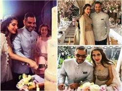Karisma Kapoor S Ex Husband Sunjay Kapur Priya Sachdev S Wedding Reception Pics