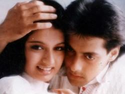 Bhagyashree Cried Three Hours Before Goes Salman S Arms
