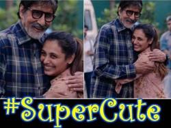 Amitabh Bachchan Wishes Ranu Mukerjee The Best On Hichki Sets