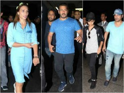 Salman Khan And His Family Returns From Maldives Trip See Pics