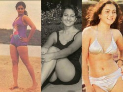 Vintage Bollywood Bikini Divas Old Bollywood Actresses In Bikini