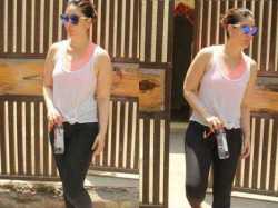 Kareena Kapoor Khan Amrita Arora Snapped Post Yoga Session