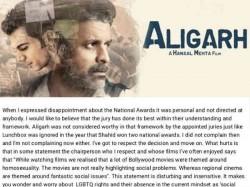 Hansal Mehta Disappointed Over Priyadarshan S Disregard Aligarh Homosexuality