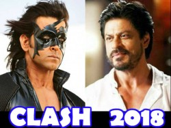 Hrithik Roshan S Kkrish 4 Clash With Shahrukh Khan S Anand L Rai Film