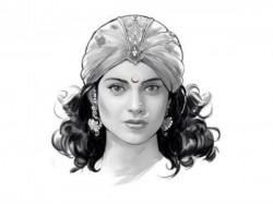 Kangana Ranaut S First Look As Manikarnika Jhansi Ki Rani