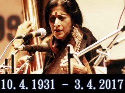 Kishori Amonkar Renowned Indian Classical Vocalist Passes Away At 84