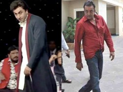 Ranbir Kapoor Apes Sanjay Dutt In This Latest Pic