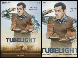 Salman Khan S Tubelight Poster Kabir Khan Film