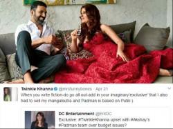 Twinkle Khanna Hits Back At Publishing Daily Tiff Stories With Akshay Kumar