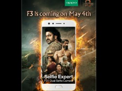 When Two Heroes Come Together Baahubali 2 And Oppo F