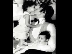 Amitabh Bachchan Shares Adorable Throwback Pic Of Baby Shweta And Abhishek Bachchan