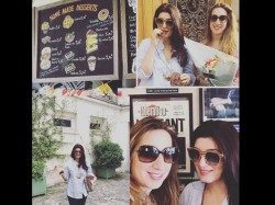 Twinkle Khanna Enjoying Holiday In Paris See Pics
