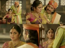 Baahubali S Katappa Sivagami Play Royal Couple This New Ad
