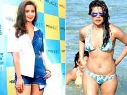Alia Bhatt Reaction On Priyanka Chopra Bikini Look