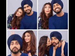 Arjun Kapoor Athiya Shetty Results A Spontaneous Photoshoot For Mubarakan