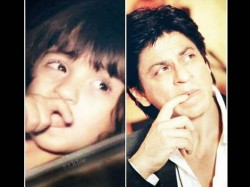 Abram Khan Khan Pics He Exactly Looks Like Papa Shahrukh Khan