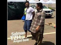 Tiger Zinda Hai New Pics Salman Khan Katrina Kaif Angad Bedi