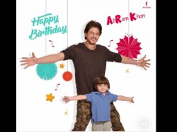 Shahrukh Khan Abram Latest Pic On Abram Birthday Will Make Your Day