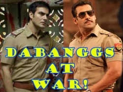 Arbaaz Khan Is Miffed With Salman Khan For Signing Wanted 2