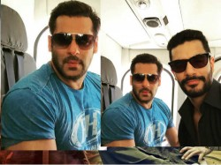Tiger Zinda Hai Salman Khan Angad Bedi Selfie Together
