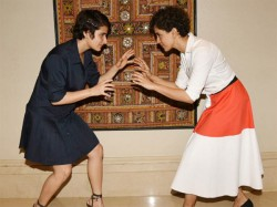 All Is Not Well Between Dangal Girls Fatima Sana Shaikh And Sanya Malhotra