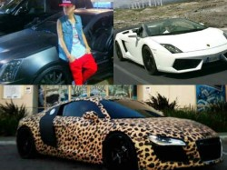 Justin Bieber And His Collection Of Cars And Bikes