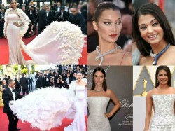 Cannes 2017 When Kendall Bella Araya Took Style Cues From Priyanka Aishwarya Sonam