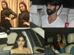 Bollywood Stars At Karan Johar Birthday Bash