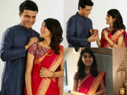 Saurav Ganguly Daughter Sana Ganguly First Photoshoot For Ad