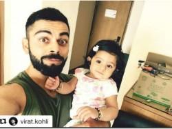 Virat Kohli Shares Adorable Pic With Harbhajan Singh Geeta Basra Daughter Hinaya