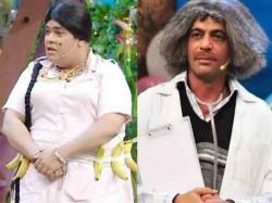 Kiku Sharda Trying Copy Sunil Grover The Kapil Sharma Show