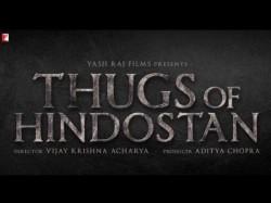 Check First Logo Thugs Of Hindostan Aamir Khan