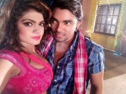 Bhojpuri Actress Nisha Dubey Is Busy In Gadar 2 Shooting In Mumbai